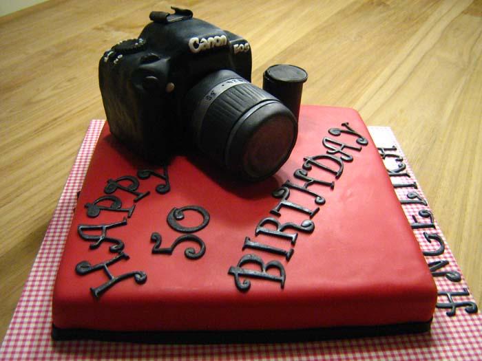 Canon Camera Cake - Torteneleganz