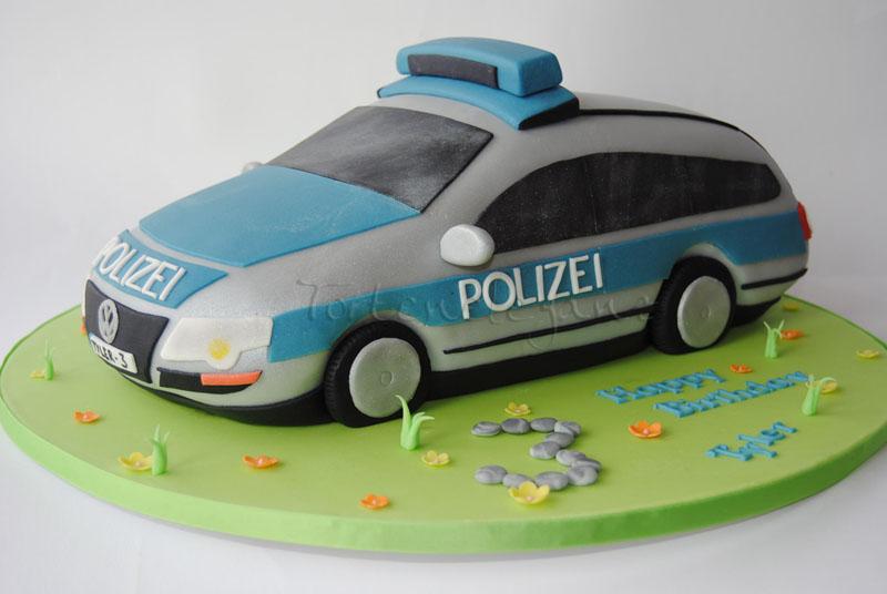 Car Model Birthday Cakes