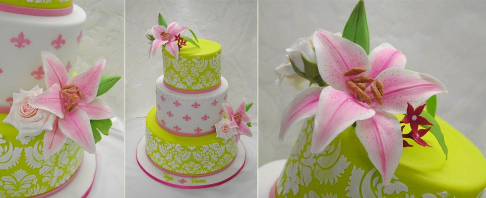 Torteneleganz Hochzeitstorte Tauftorte Geburtstagstorte 3d Torte