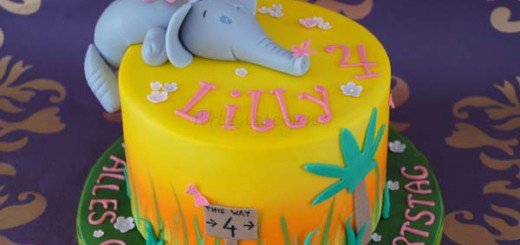 Für lilly s elefantastischen 4 geburtstag
